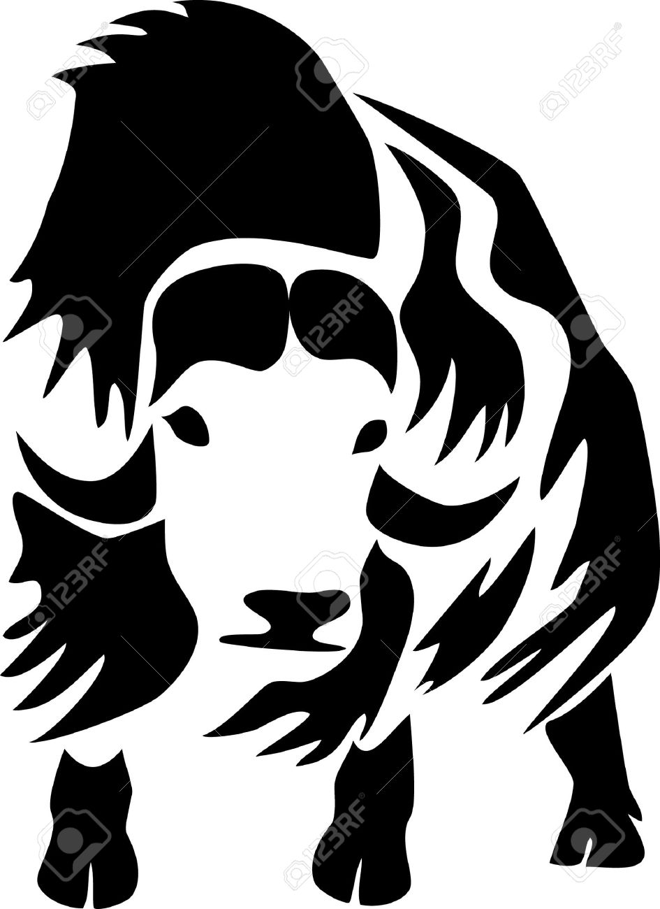 Muskox Royalty Free Cliparts, Vectors, And Stock Illustration.