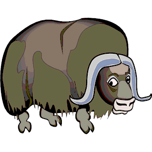 Musk Ox clipart, cliparts of Musk Ox free download (wmf, eps, emf.