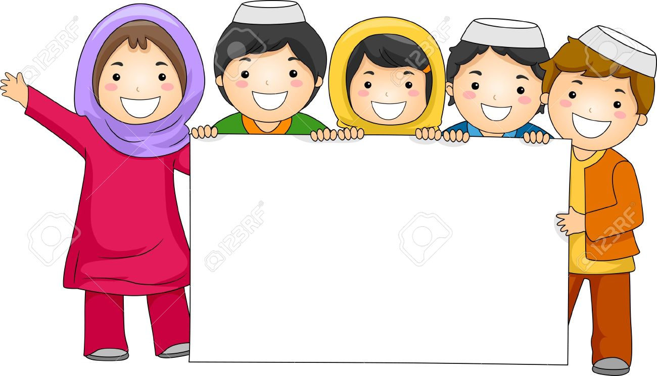 1,698 Muslim Children Stock Illustrations, Cliparts And Royalty.