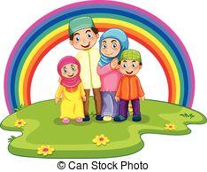 Muslim family Vector Clip Art EPS Images. 667 Muslim family.