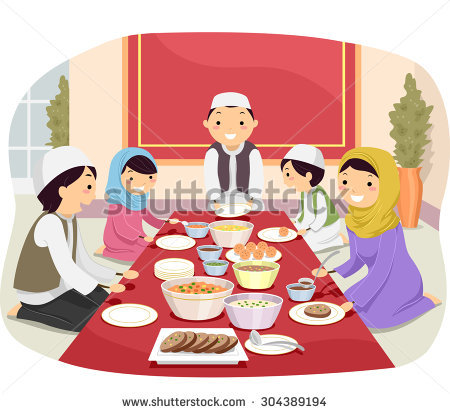 Muslim Family Stock Images, Royalty.