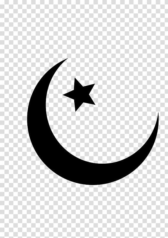 Islam Muslim Symbol Religion Crescent, Islam transparent.