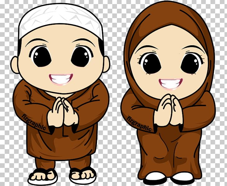 Muslim Islam Cartoon PNG, Clipart, Aidilfitri, Animation.