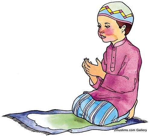 Clipart Pray Muslim.