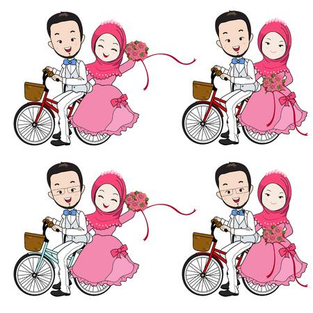 4,141 Muslim Wedding Stock Illustrations, Cliparts And.