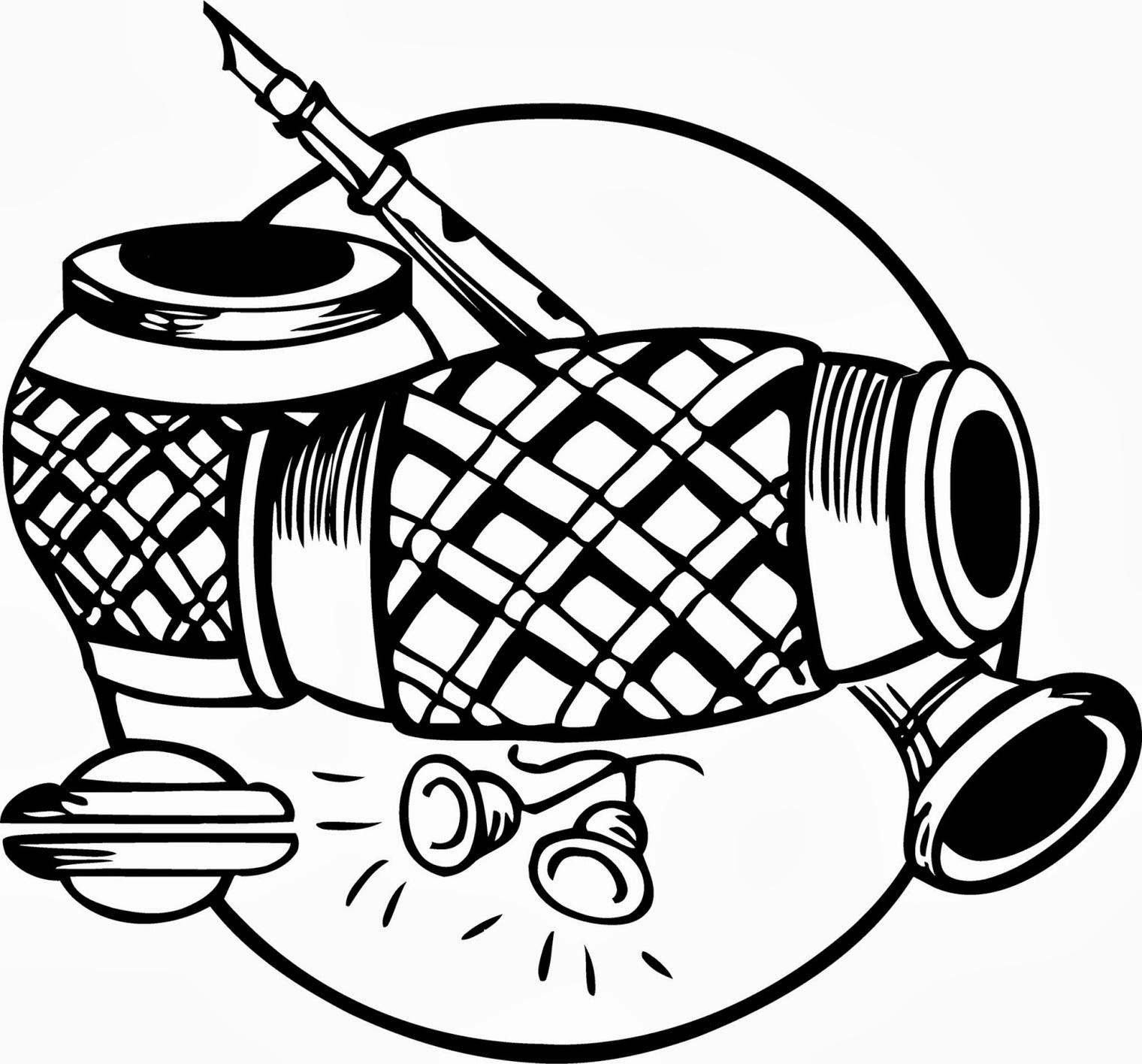Indian Wedding Invitation Clip Art.