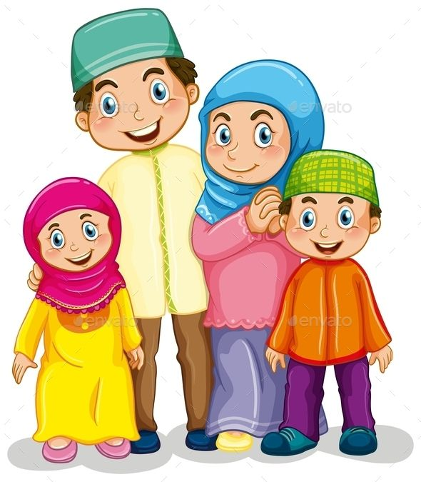 1000+ images about ~*❤️Family~Muslim Family Clipart *~ on.