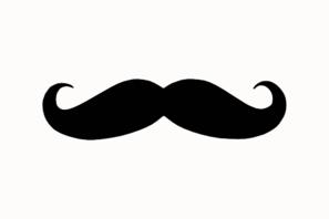 Moustache clip art.