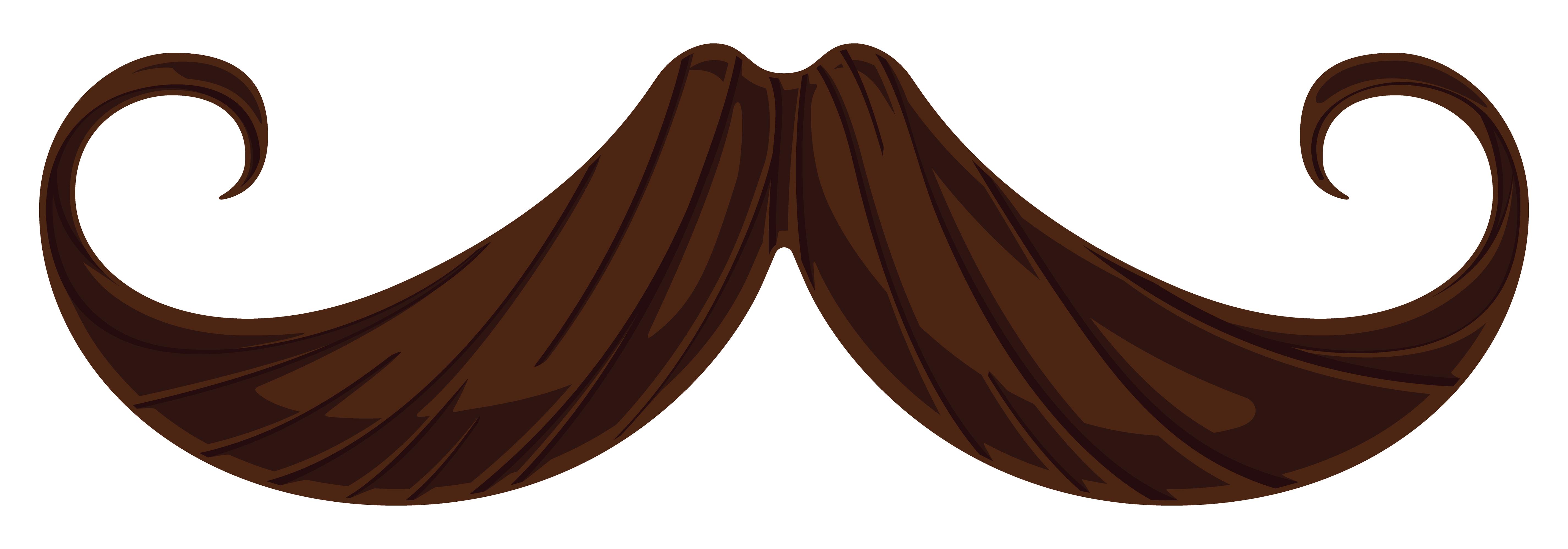 Clip Art Mustache Clipart.