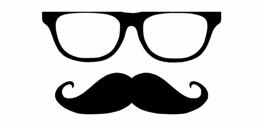 Moustache Clipart Nerdy Glass.