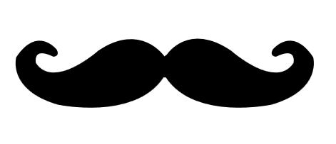 Free Mustache Silhouette Clip Art, Download Free Clip Art.