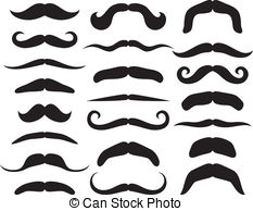 Mustaches Vector Clip Art EPS Images. 32,855 Mustaches clipart.