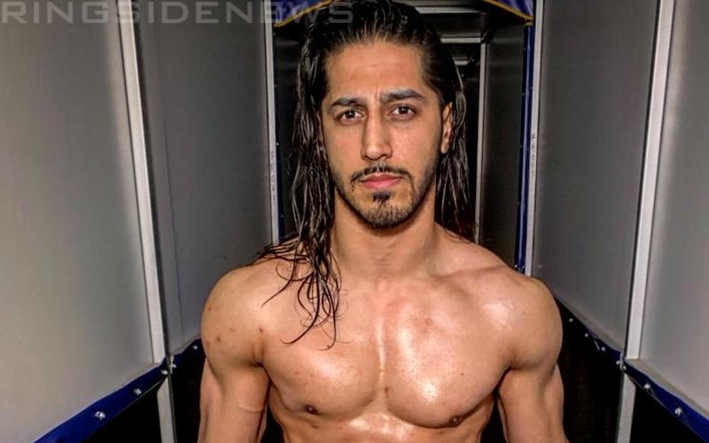 Mustafa Ali Reacts To His Name Change In WWE.