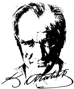 Başkumandan Mustafa Kemal Atatürk Vector EPS Free Download, Logo.