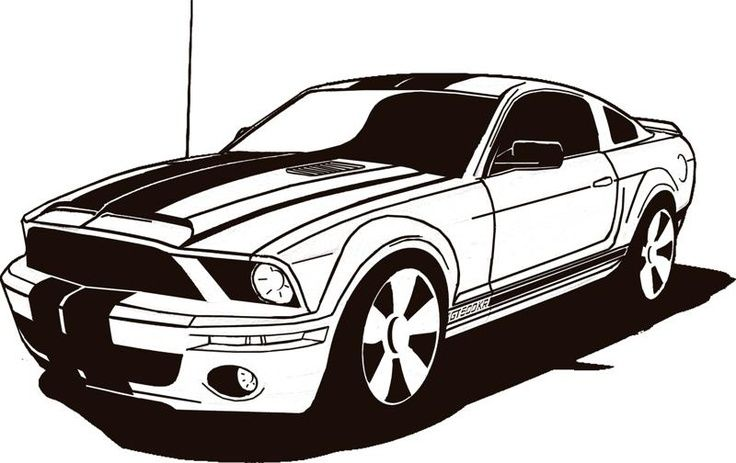 Ford Mustang Clip Art Cliparts.