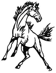 Mustang Clip Art Horse.