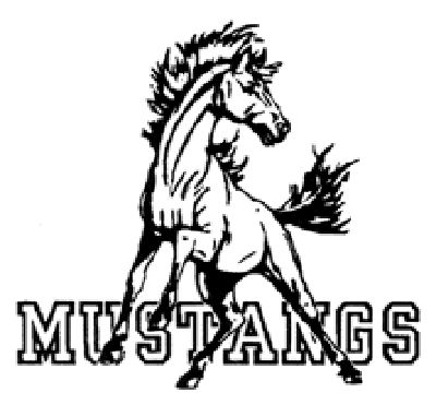 Mustang clipart free.