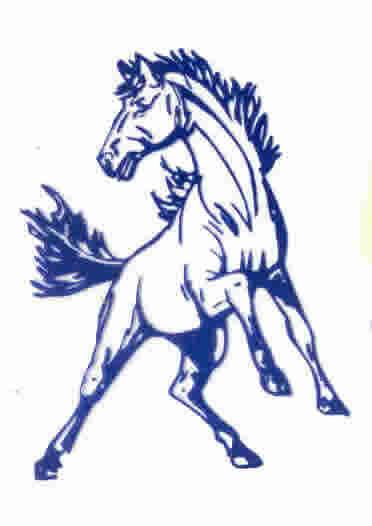 Mustang Mascot.