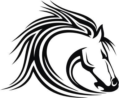 Mustangs Clipart.