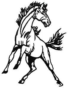 Mustang head clipart 1 » Clipart Portal.