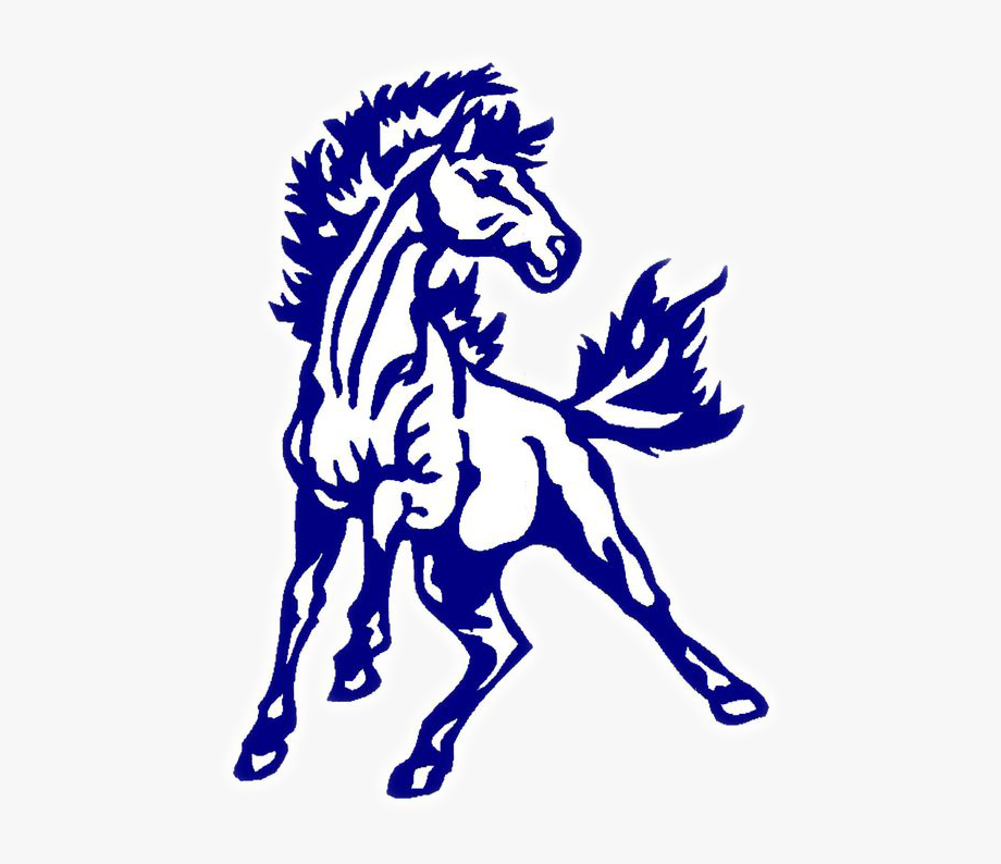 Mustang Clipart Softball.