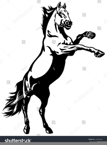 Free Clipart Of Mustang Horses.