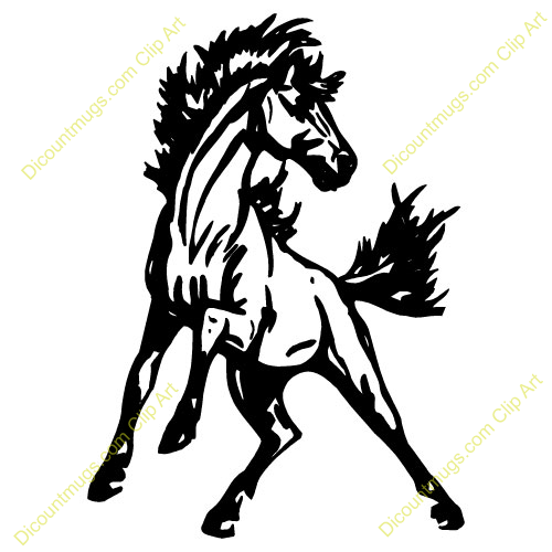 Mustang horses clipart 5 » Clipart Portal.