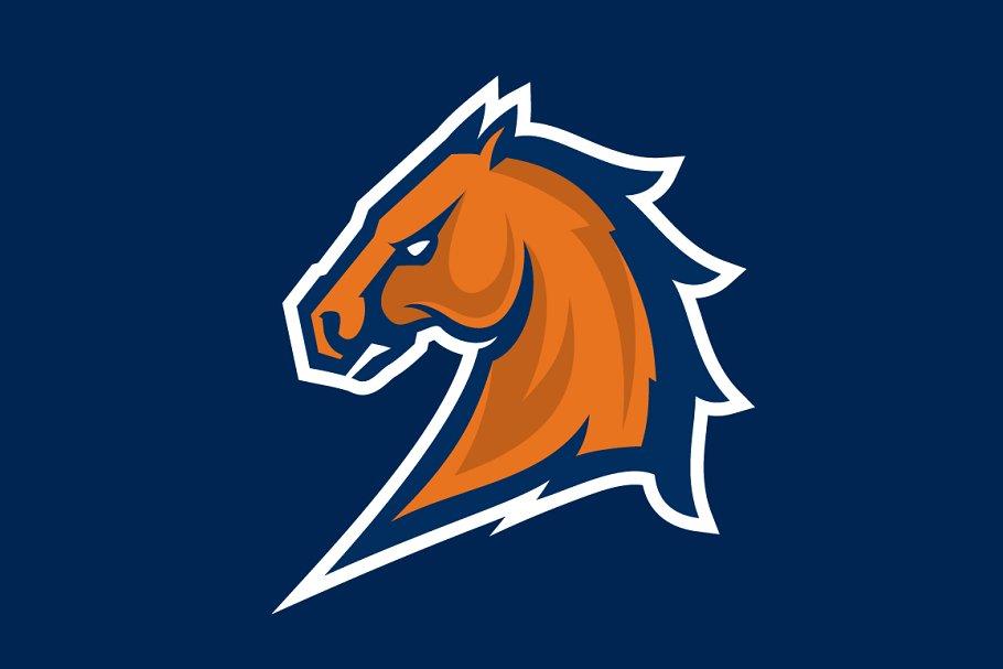 Mustang sport mascot.