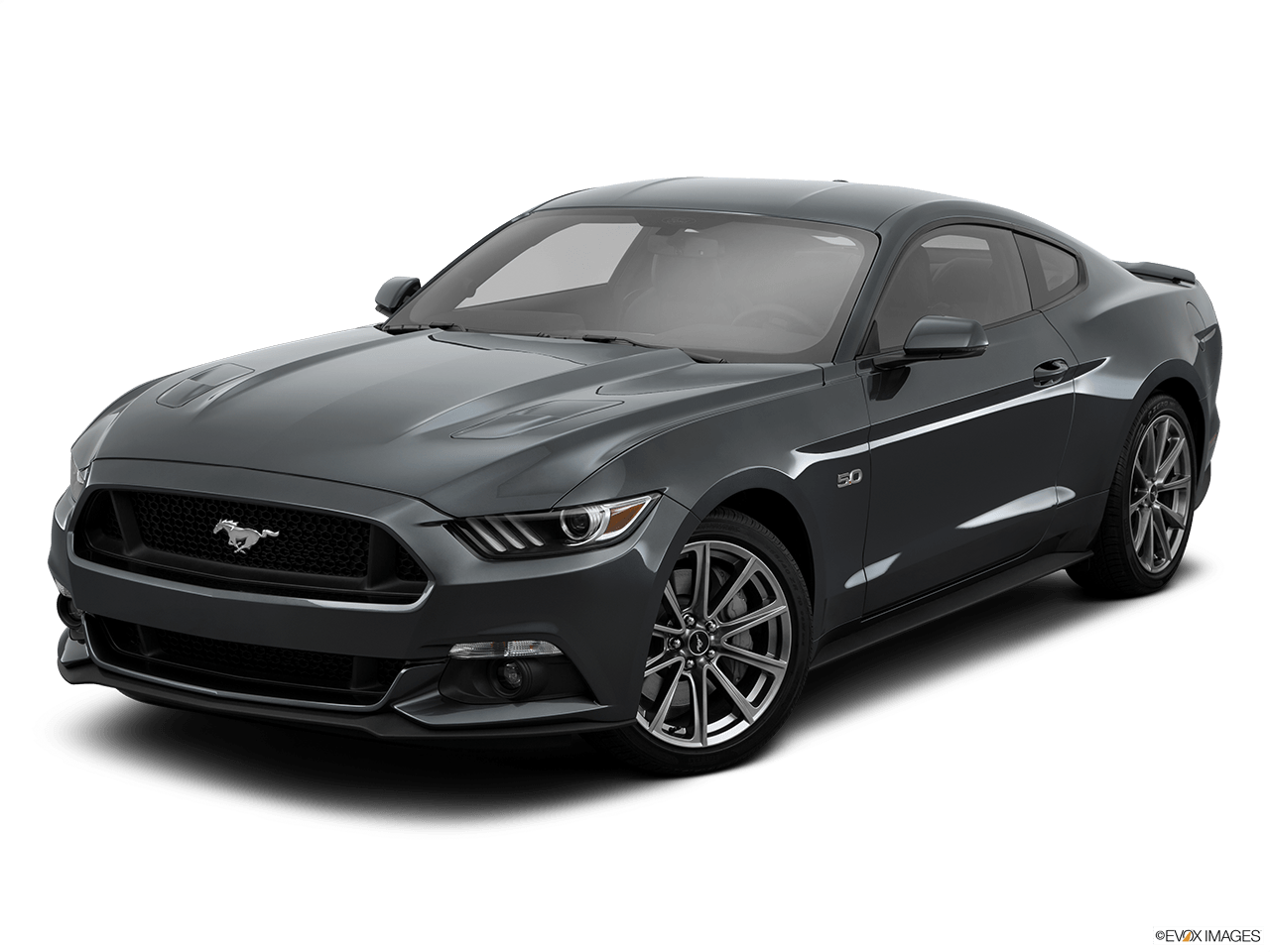Ford Mustang Grey transparent PNG.