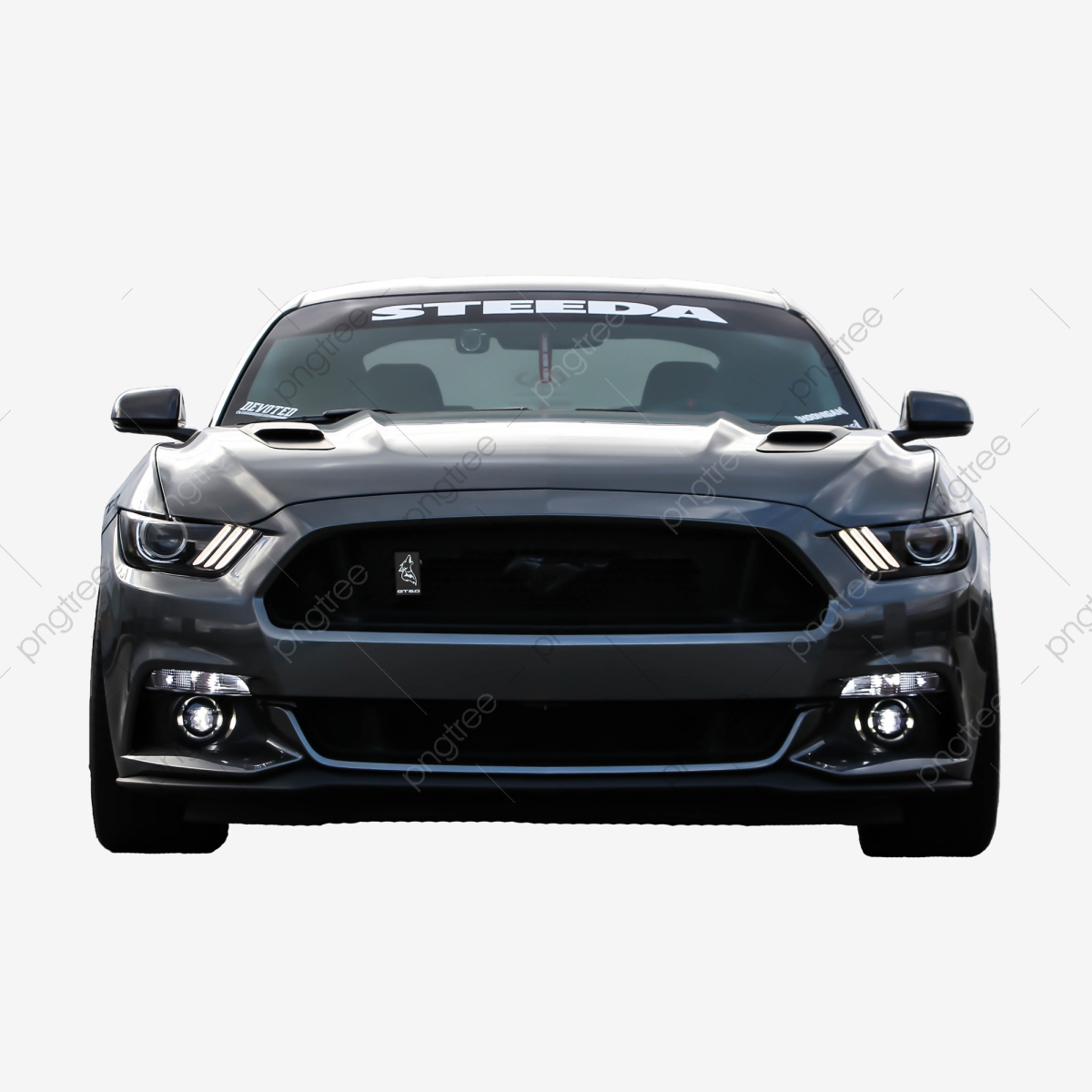 Black Ford Mustang Png, Car, Transportation, Png PNG.