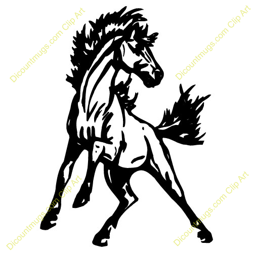 Mustang Clipart.