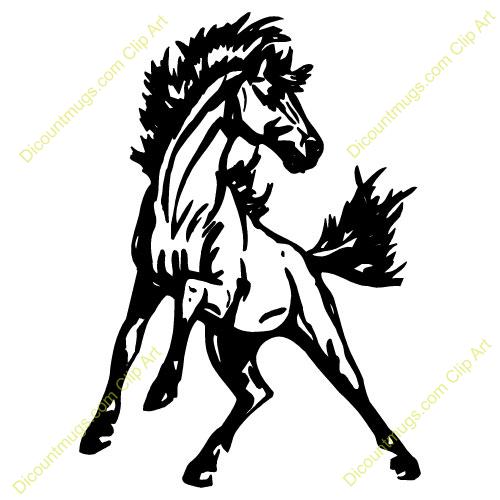 Mustang Clipart.