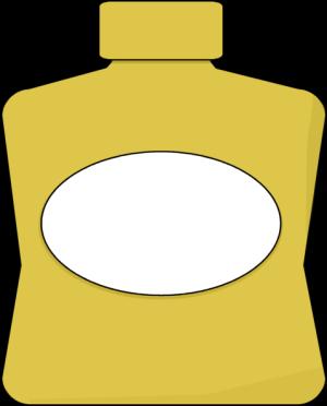 Mustard Clip Art.