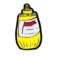 Mustard clipart.