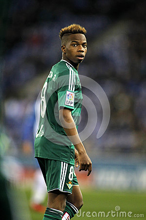 Charly Musonda Junior Of Real Betis Editorial Image.