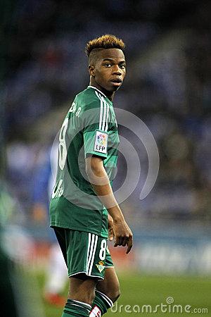 Charly Musonda Junior Of Real Betis Editorial Image.