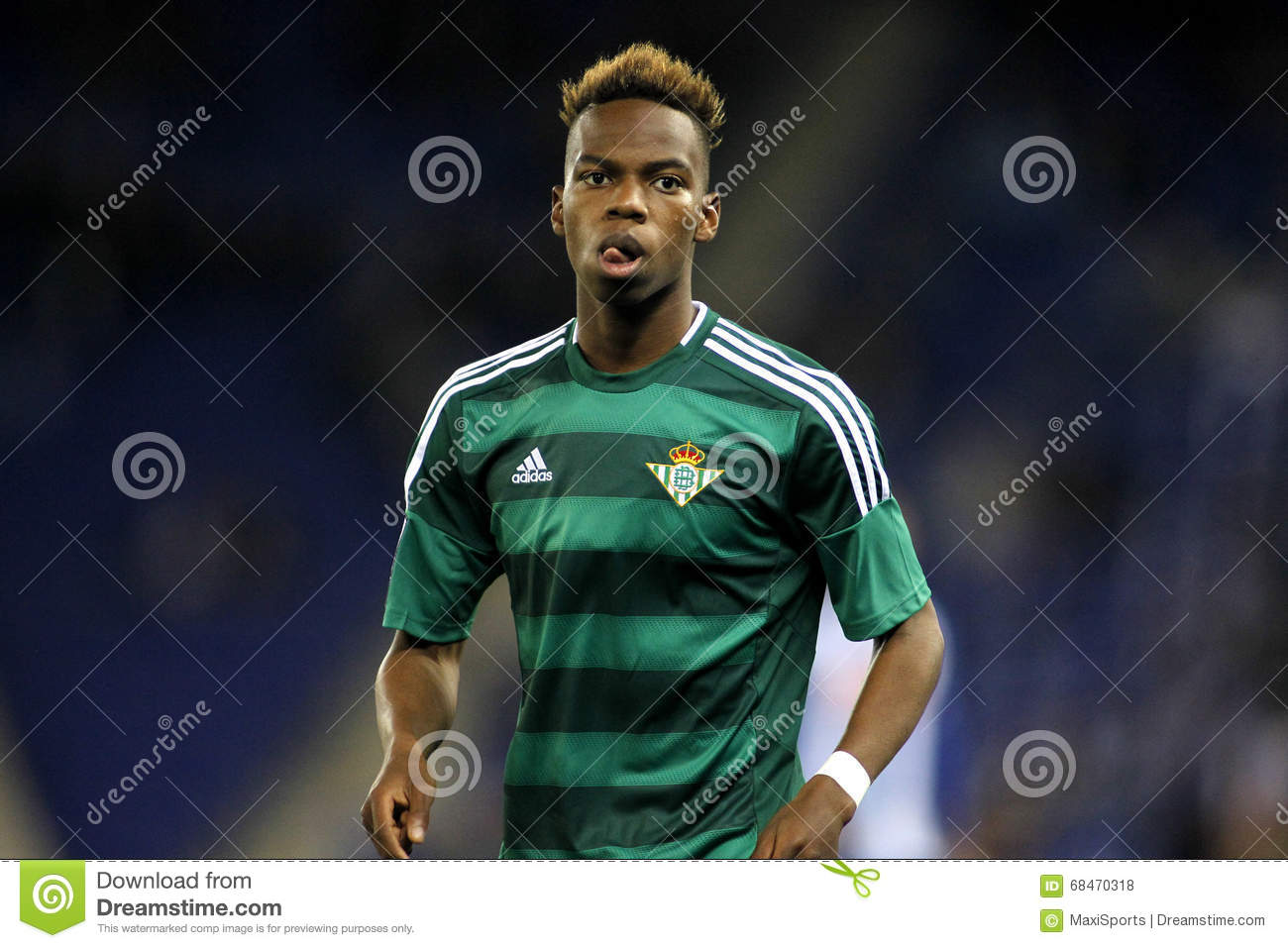 Charly Musonda Junior Of Real Betis Editorial Stock Photo.