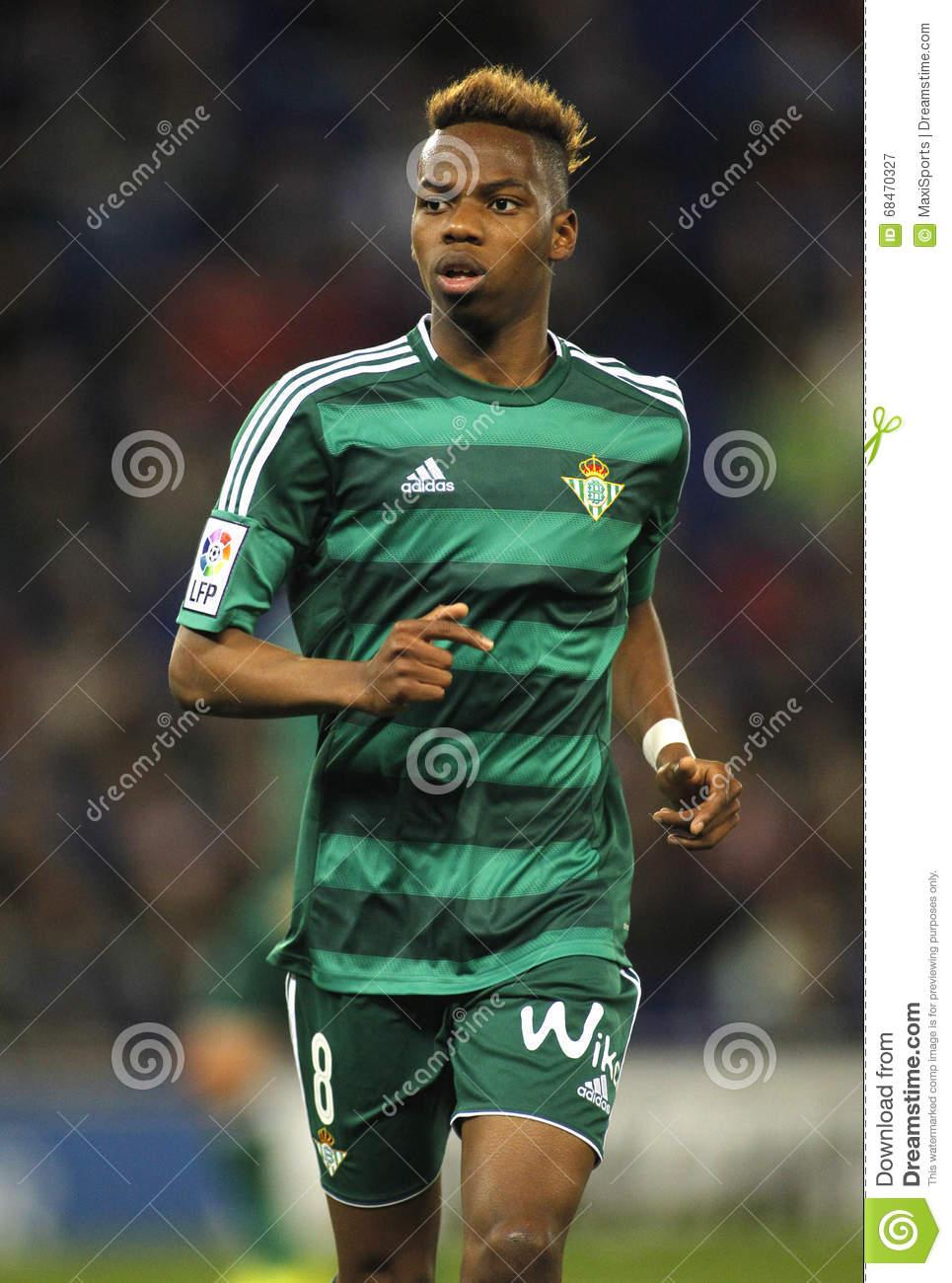 Charly Musonda Junior Of Real Betis Editorial Photography.