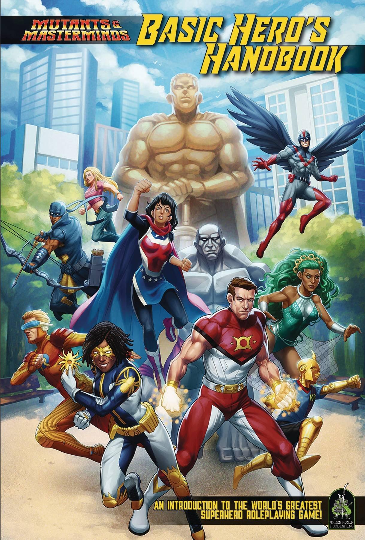 Mutants & Masterminds: Basic Hero\'s Handbook: Steve Kenson.