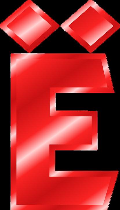 Free vector graphic: Alphabet, E, Umlaut, Mutated Vowel.