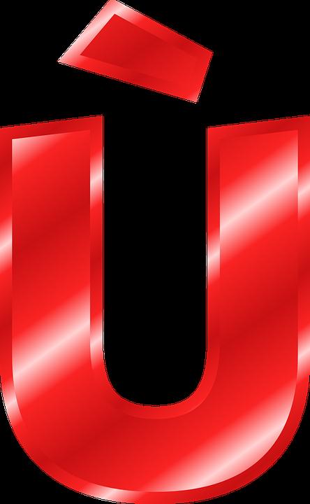 Free vector graphic: Alphabet, U, Ù, Umlaut.