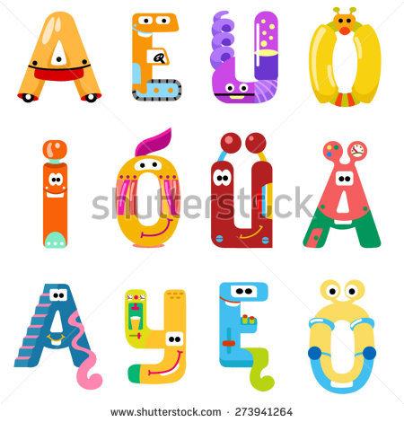 Alien Alphabet Stock Photos, Royalty.