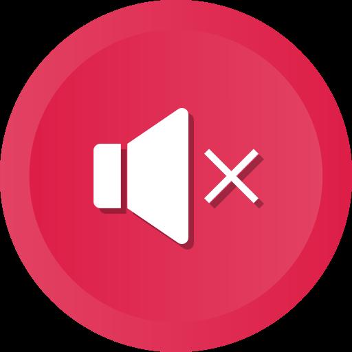 Audio, music, mute, player, sound, speaker, volume icon.