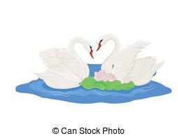 Mute swan Clipart Vector Graphics. 30 Mute swan EPS clip art.