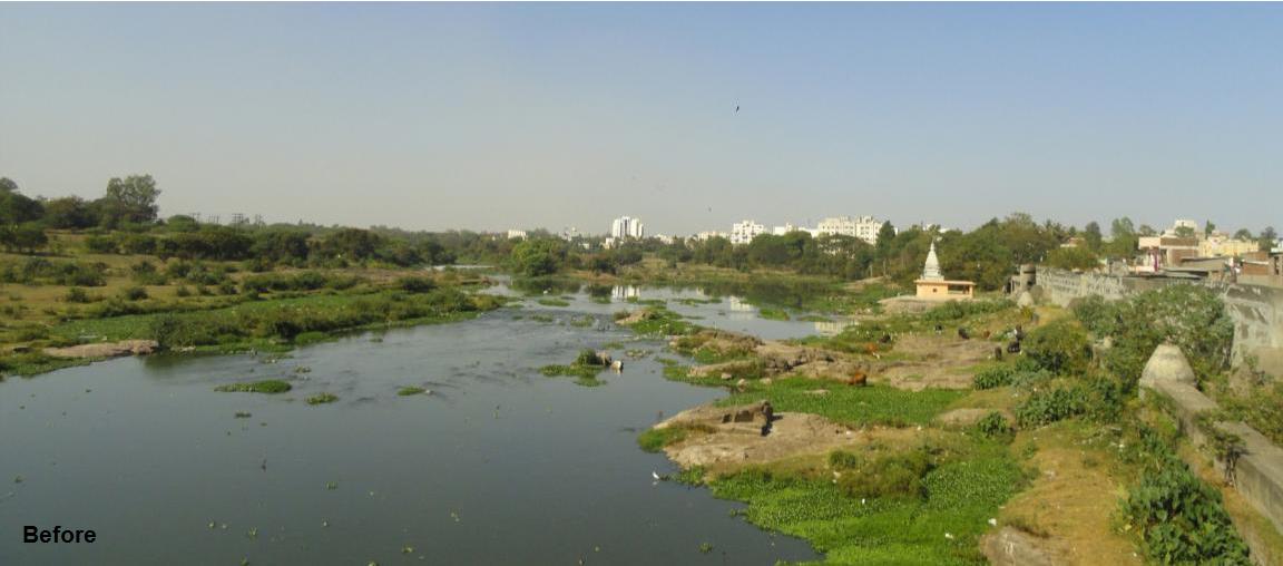 Pune Riverfront.