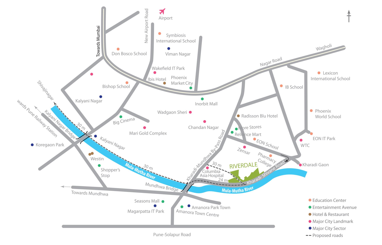 Duville Riverdale, Heights, Residences, Grand, Kharadi Pune.