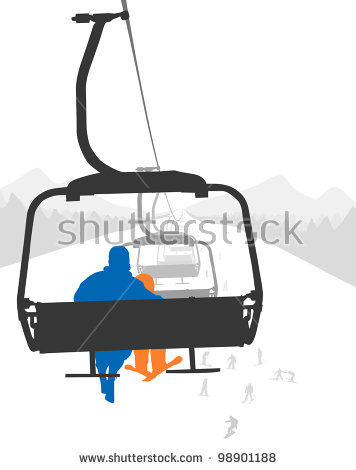 Ski Lift Stock Images, Royalty.