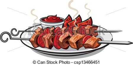 Kebab mutton Clip Art Vector and Illustration. 145 Kebab mutton.
