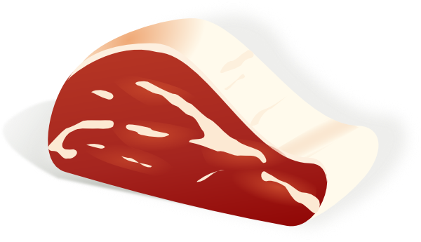 Meat Clip Art at Clker.com.