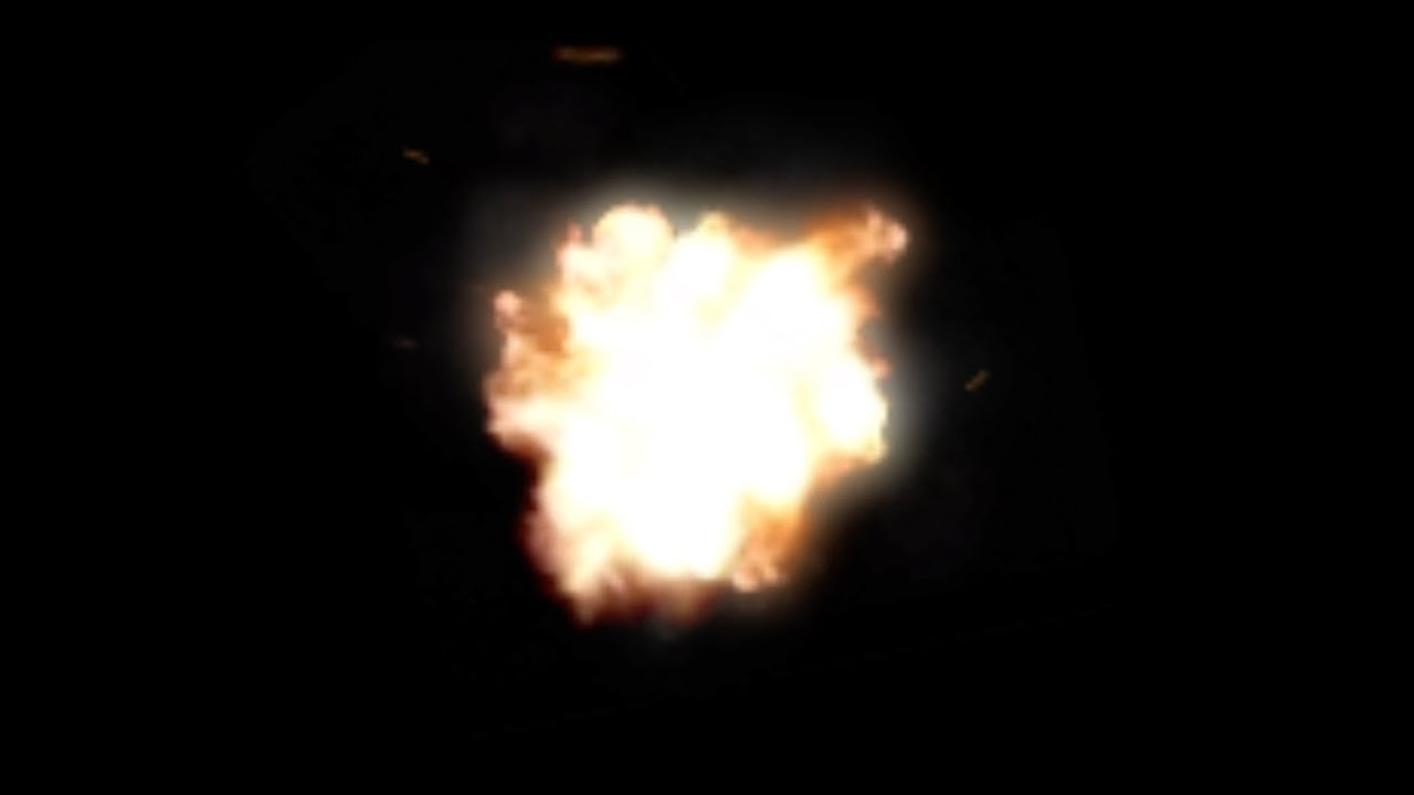 Muzzle Flash Stock Footage (Front).